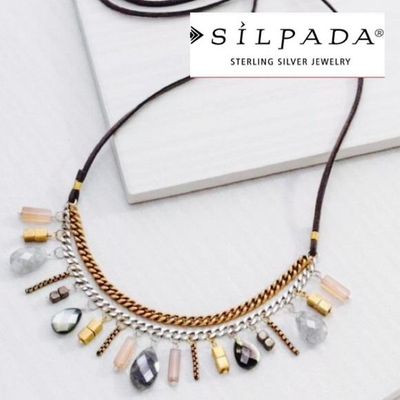 Silpada Jewelry - Silpada Courtyard Chic Necklace